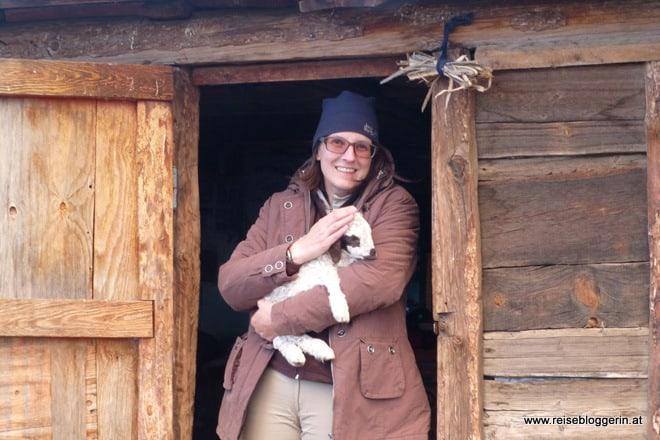 Reisebloggerin Gudrun Krinzinger in der Mongolei, Juni 2013