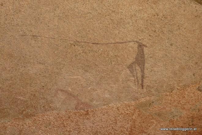 Felszeichnung Namibia