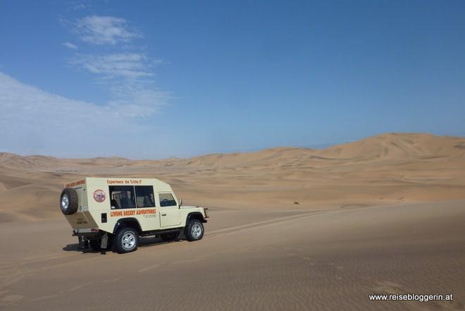 Living Desert Tour in Namibia