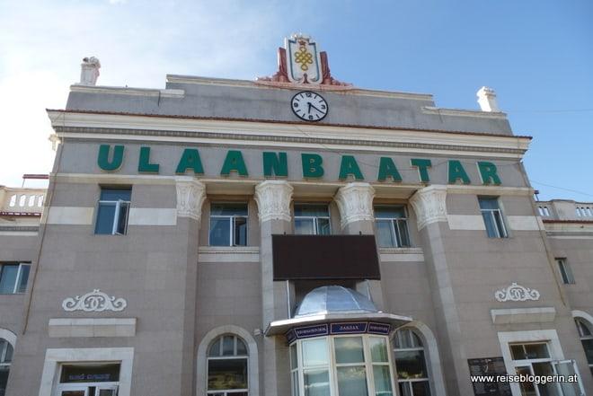 Der Bahnhof in Ulaanbaatar