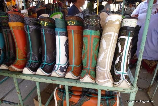 Stiefel für das Naadamfest