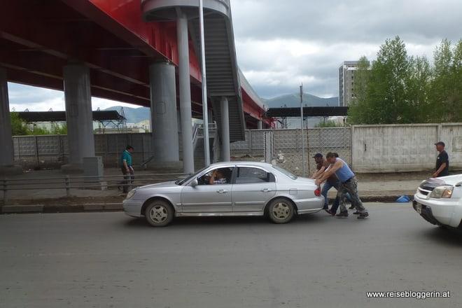 Verkehr in Ulanbator