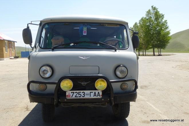 UAZ Furgon, das perfekte Fahrzeug für die Mongolei