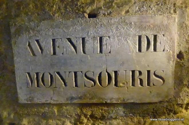 Avenue des Montsouris, Katakomben in Paris