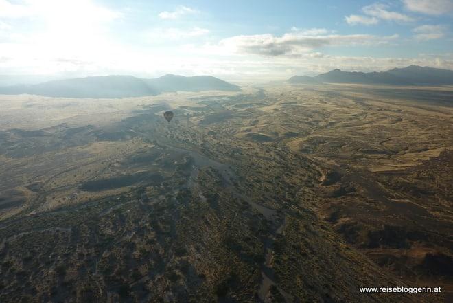 Ballon fahren in Namibia
