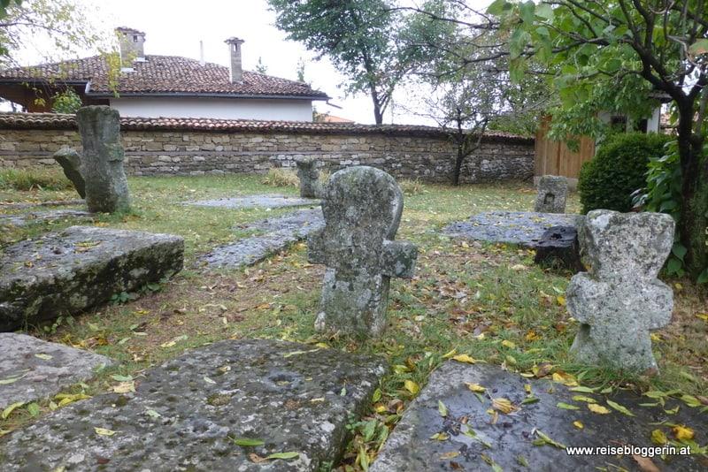 Grabsteine in Arbanasi