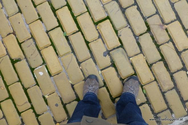 Die gelben Steine in Sofia