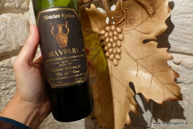Mavrud Wein