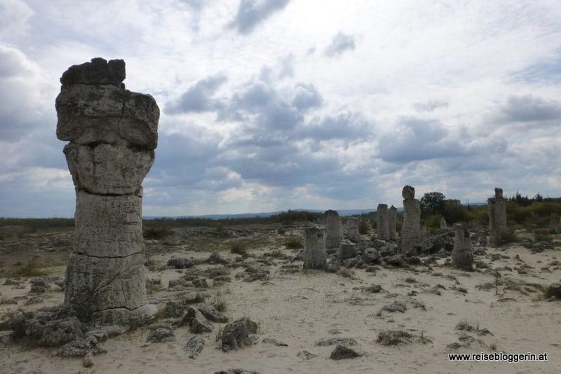 versteinerte Säulen