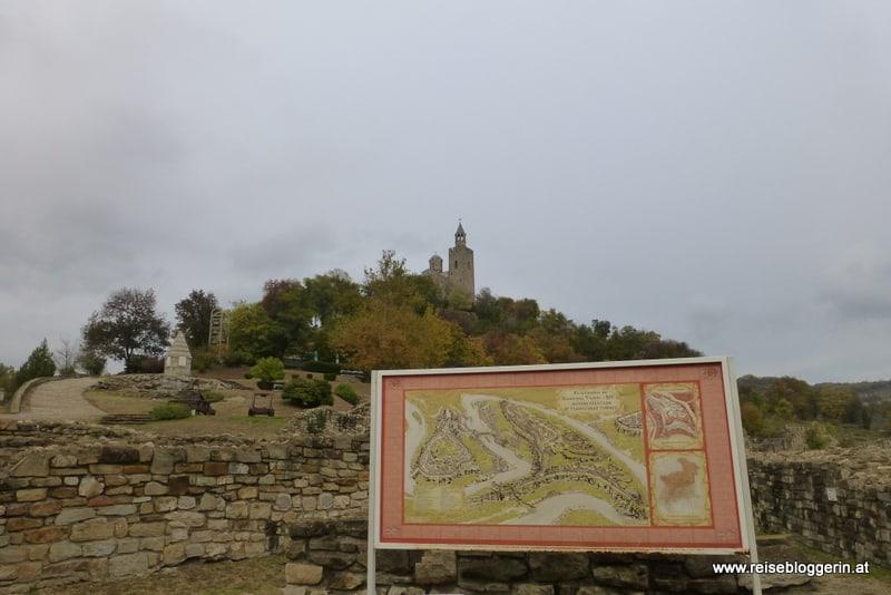 Festung mit Kirche in Bulgarien