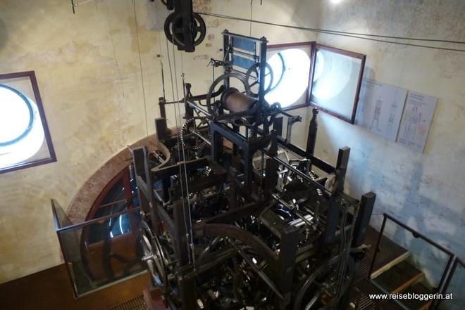 Uhrwerk im Torre dell'Orologio