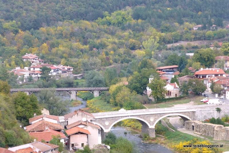 Aussicht auf Veliko Tarnovo