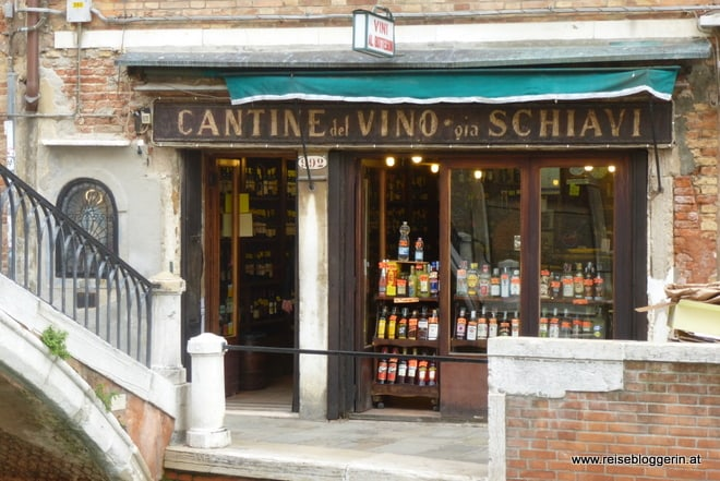 berühmte Weinbar in Venedig