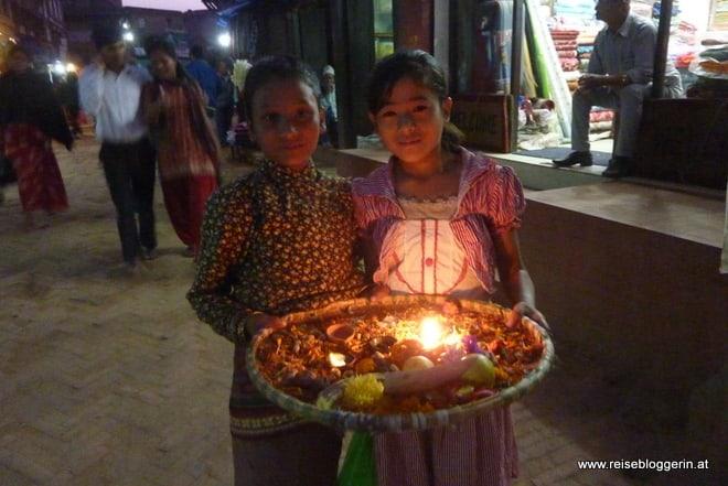 Mädchen in Nepal