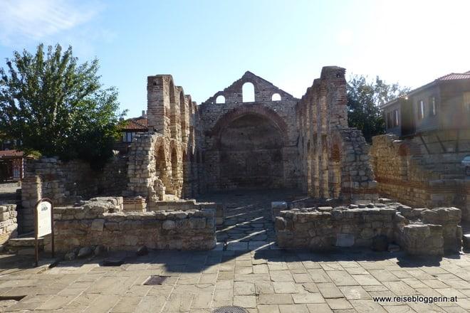 Überreste einer Kirche