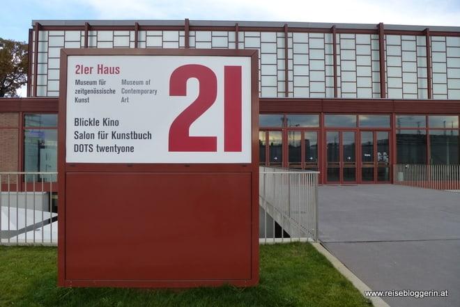 das 21er Haus im Schweizergarten