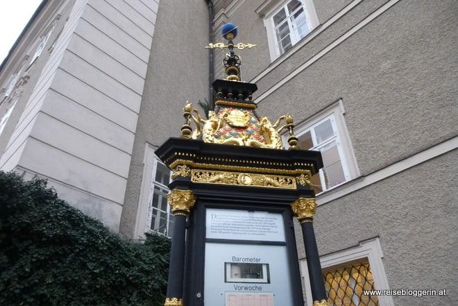 Wetterstation in Salzburg, schön renoviert