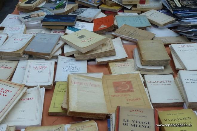 Bücher am Flohmarkt