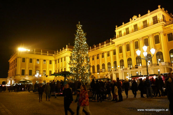 Weihnachtsmarkt Schloss Schönbrunn