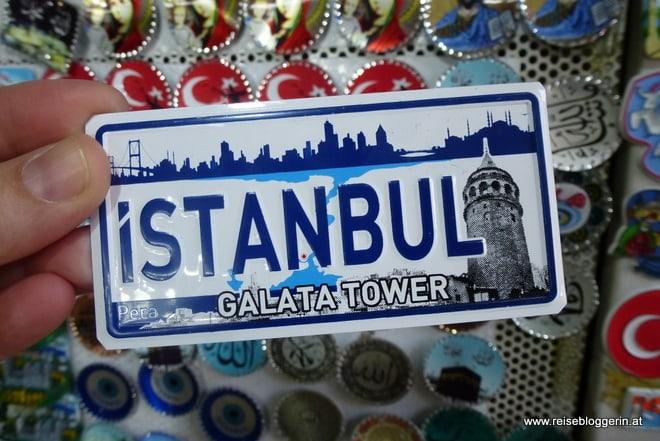 Ganz Istanbul ist blau