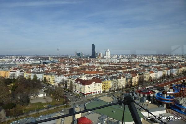 Skyline mit Donauturm