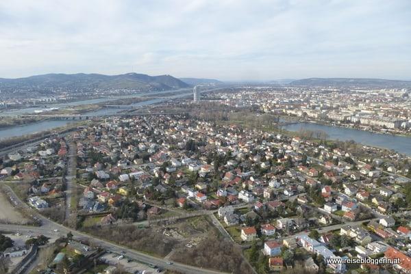Blick auf den Kahlenberg