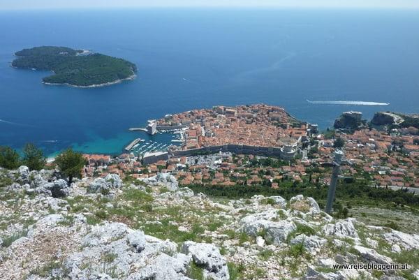 Dubrovnik liegt an der Adria