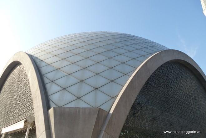 Die Kuppel der Sakirin Moschee