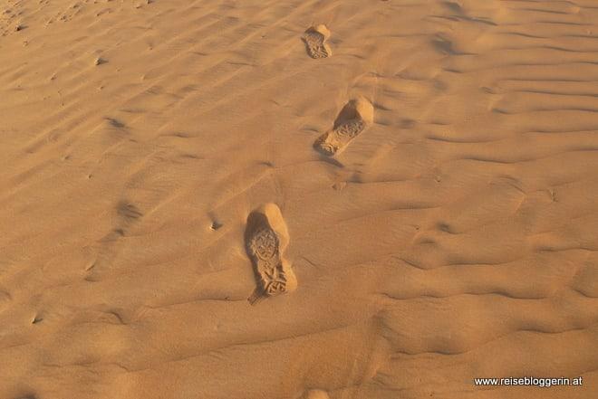 Muster und Struktur in der Wüste