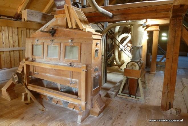 Die Mühle von innnen