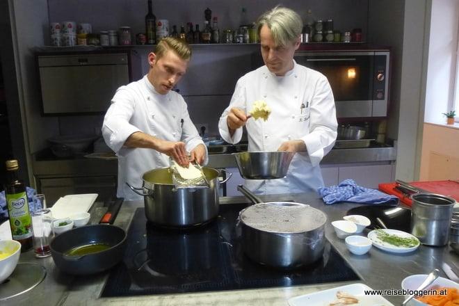 Patrick Sommer und Richard Brunnauer