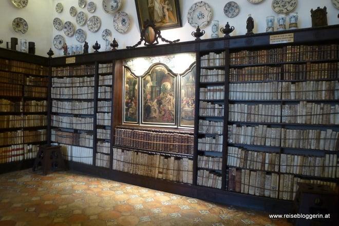 Die Bibliothek im Kartäuserkloster in Valldemossa