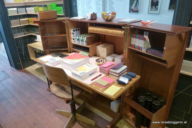le typographe, ein exquisites Papiergeschäft in Brüssel