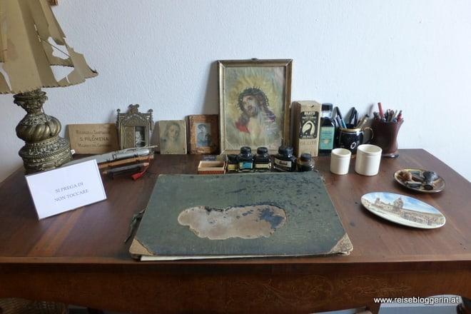 Der Schreibtisch von Marino Moretti