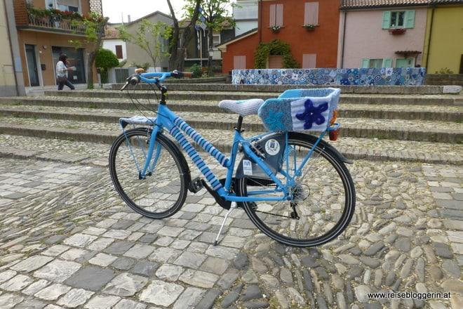 Verstrickstes Fahrrad