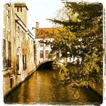 Kanal in Brügge