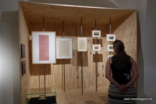 Ausstellung Erster Weltkrieg auf der Schallaburg