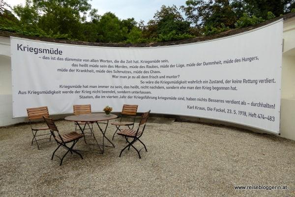 Karl Kraus Kriegsmüde Kommentar aus der Fackel