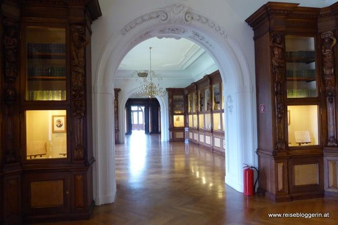 Bibliothek im Schloss Grafenegg