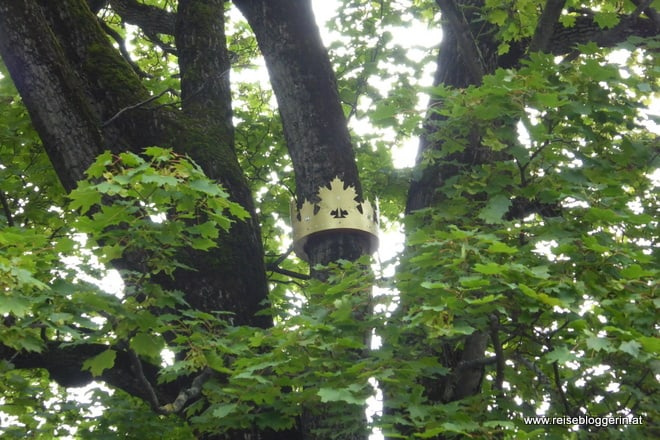 Krone im Fontanapark
