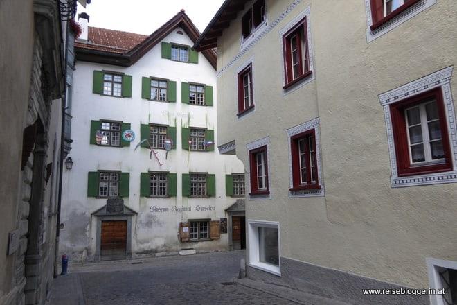 Das Museum Regiunal Surselva ist in einem alten Haus untergebracht