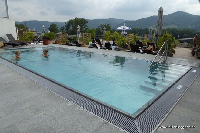 Der Pool im Pfeffel