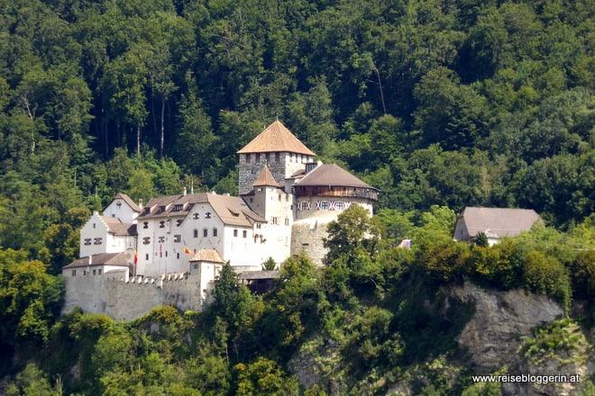 Das Schloss Vaduz in Liechtenstein
