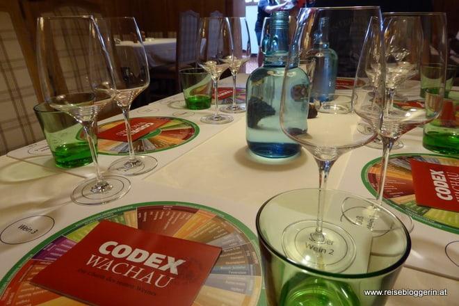 Weinverkostung im Weingut Pfeffel