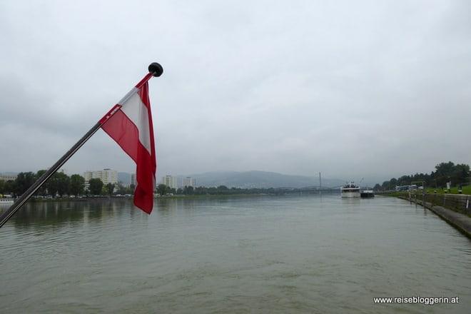 Die Donau in Linz