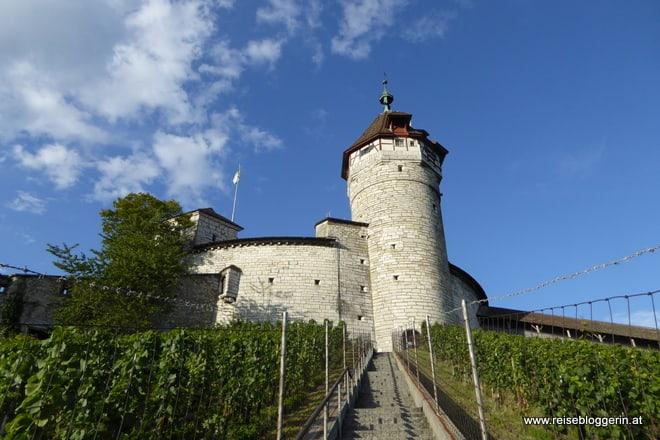 Der Munot in Schaffhausen