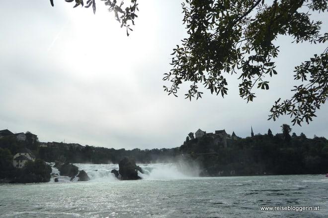 Der Rheinfall in der Schweiz