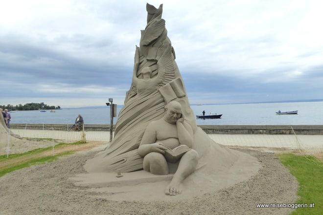 Rorschach Sandskulpturen