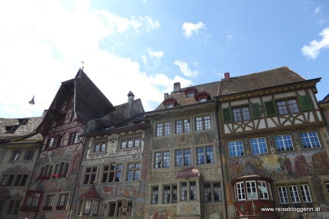 Stein am Rhein am Bodensee