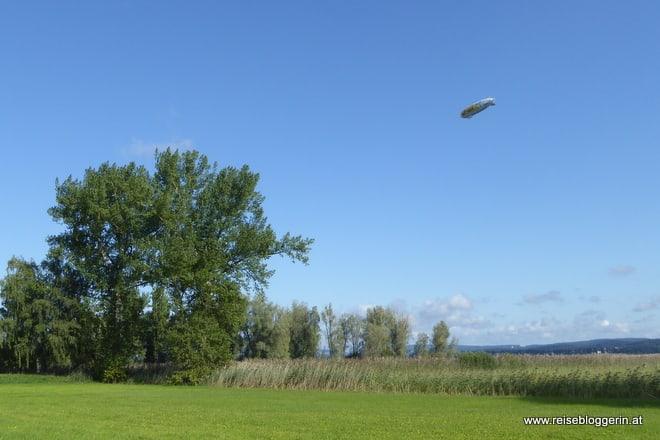 Zeppelin am Bodensee
